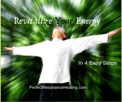 Revitalize Your Energy in Four Easy Steps